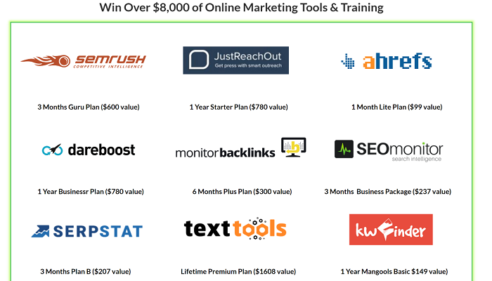 Contests Digital Marketing Education