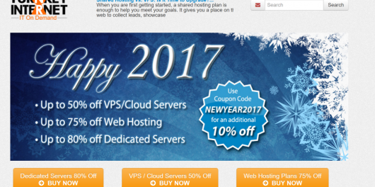 Turnkey Internet Coupon Codes Cloud Hosting Colocation Server Solutions