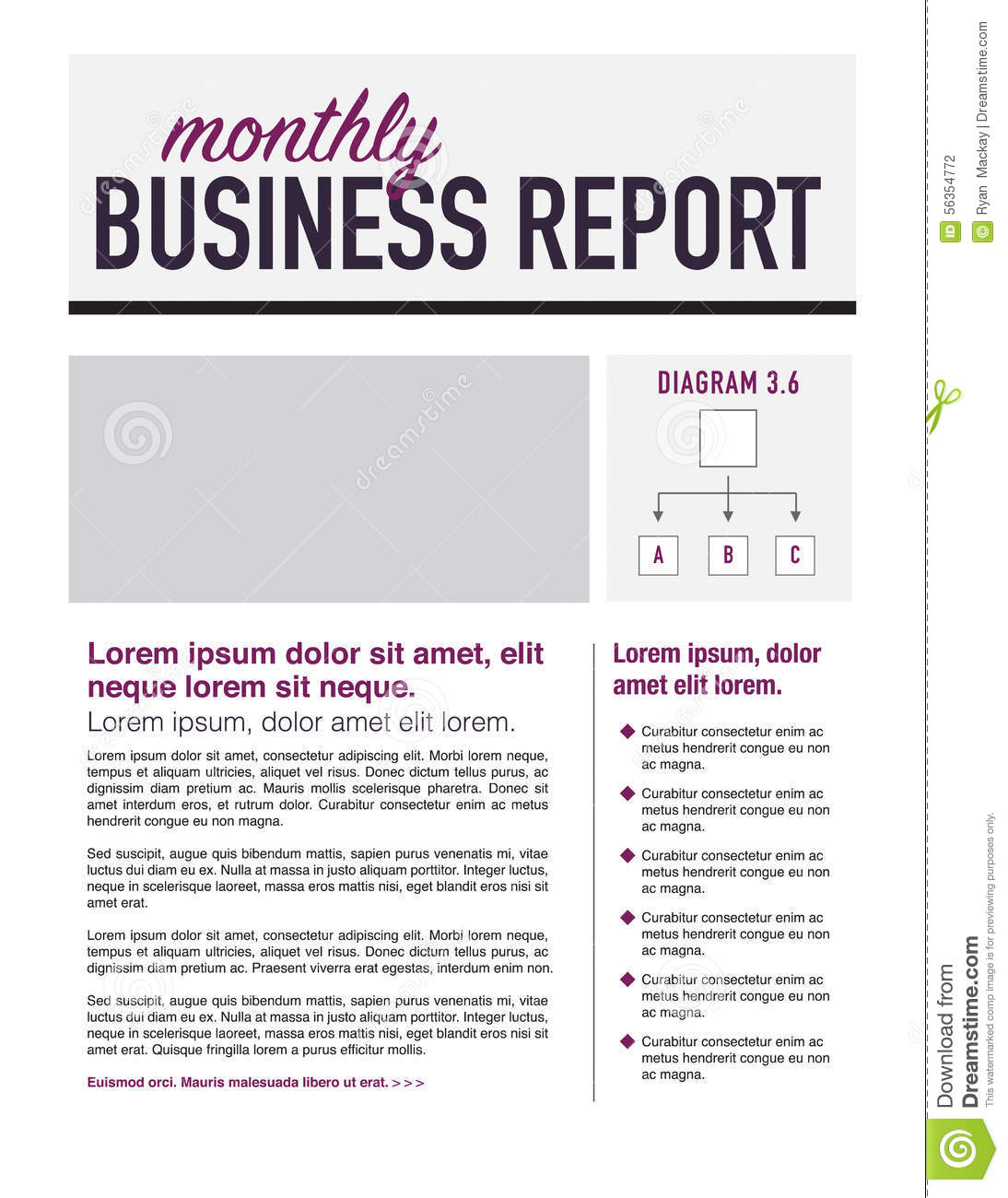 Write business report