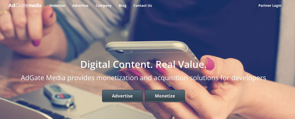AdGateMedia: Top best content locker ad network