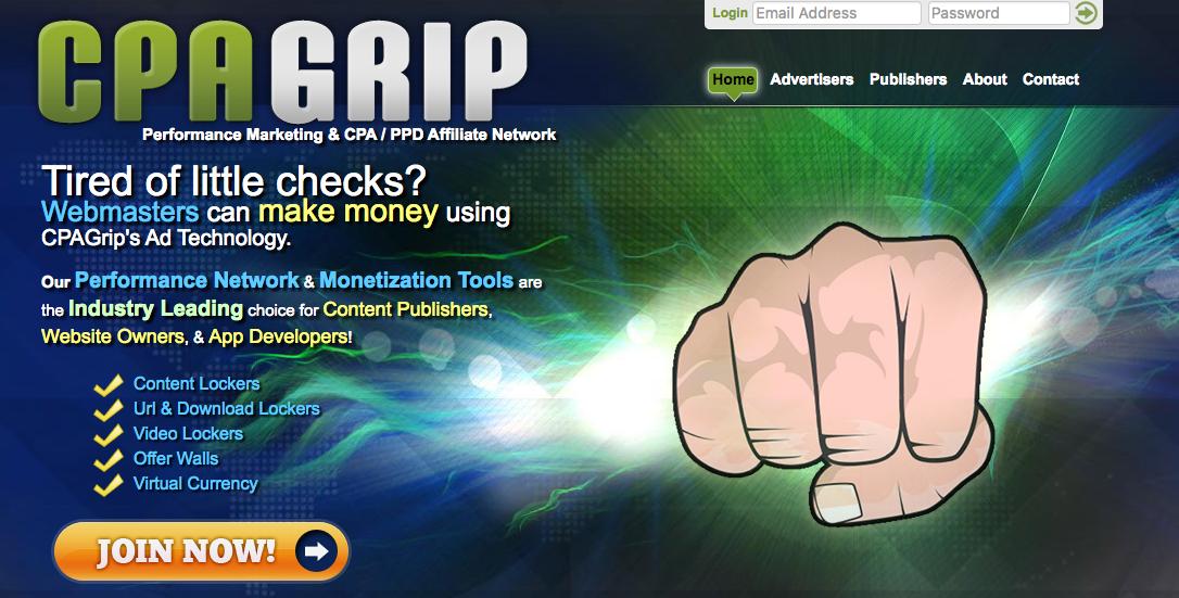 CPAGrip - Adludum - cpalead - Best Content Locker Ad Network