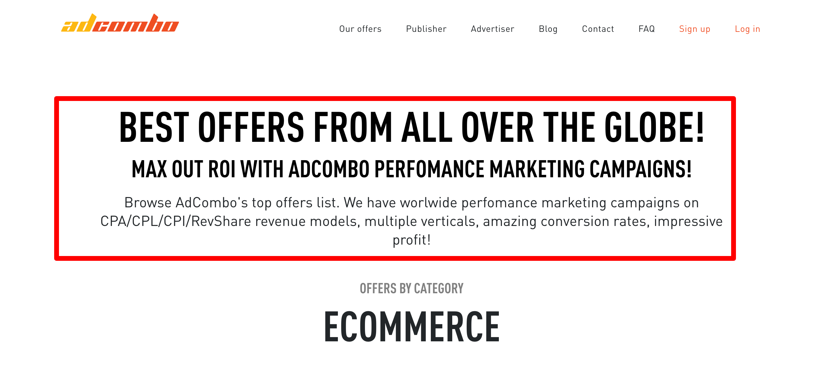 AdCombo- CPA Affiliate Network
