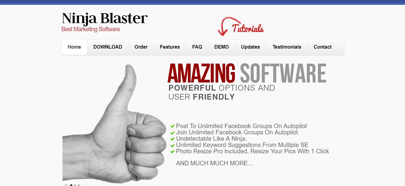 Ninja Blaster Review - Best Marketing Software
