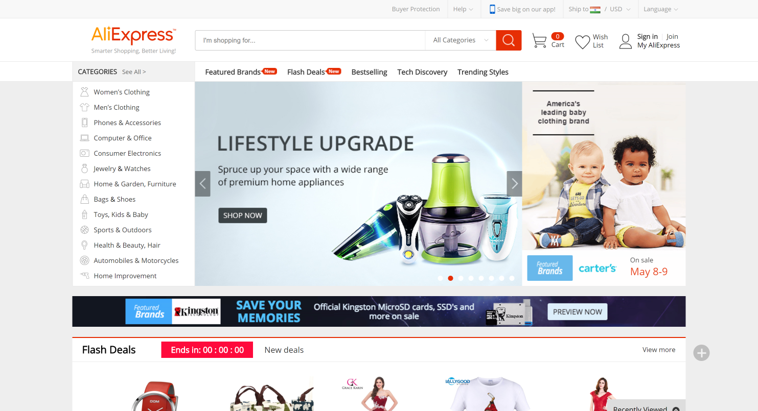 aliexpress- start a dropshipping webiste