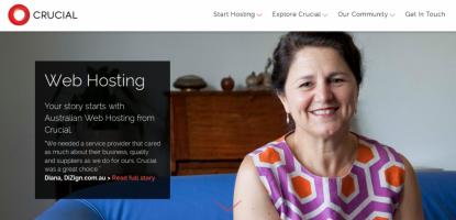 Crucial hosting australia