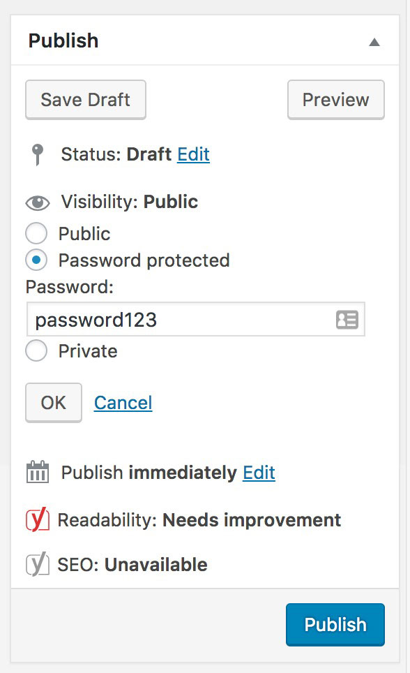 WordPress Password Protect Plugins (3)
