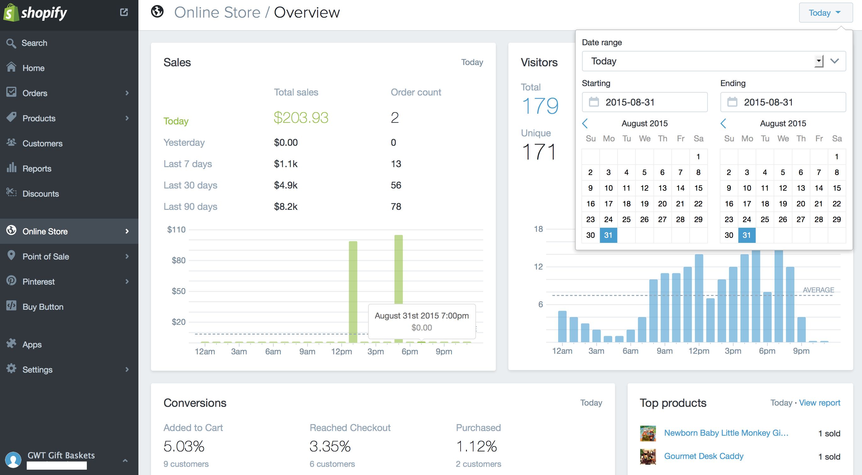 Shopify Earning screenshots