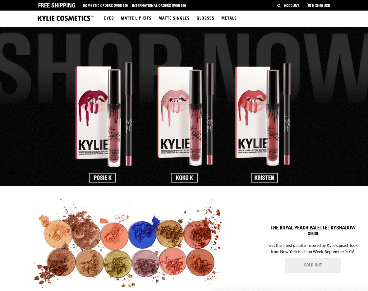 shopify-empires-the-process-behind-100000-per-month-ecommerce-stores-kylie-jenner-shop-kylie-cosmetics