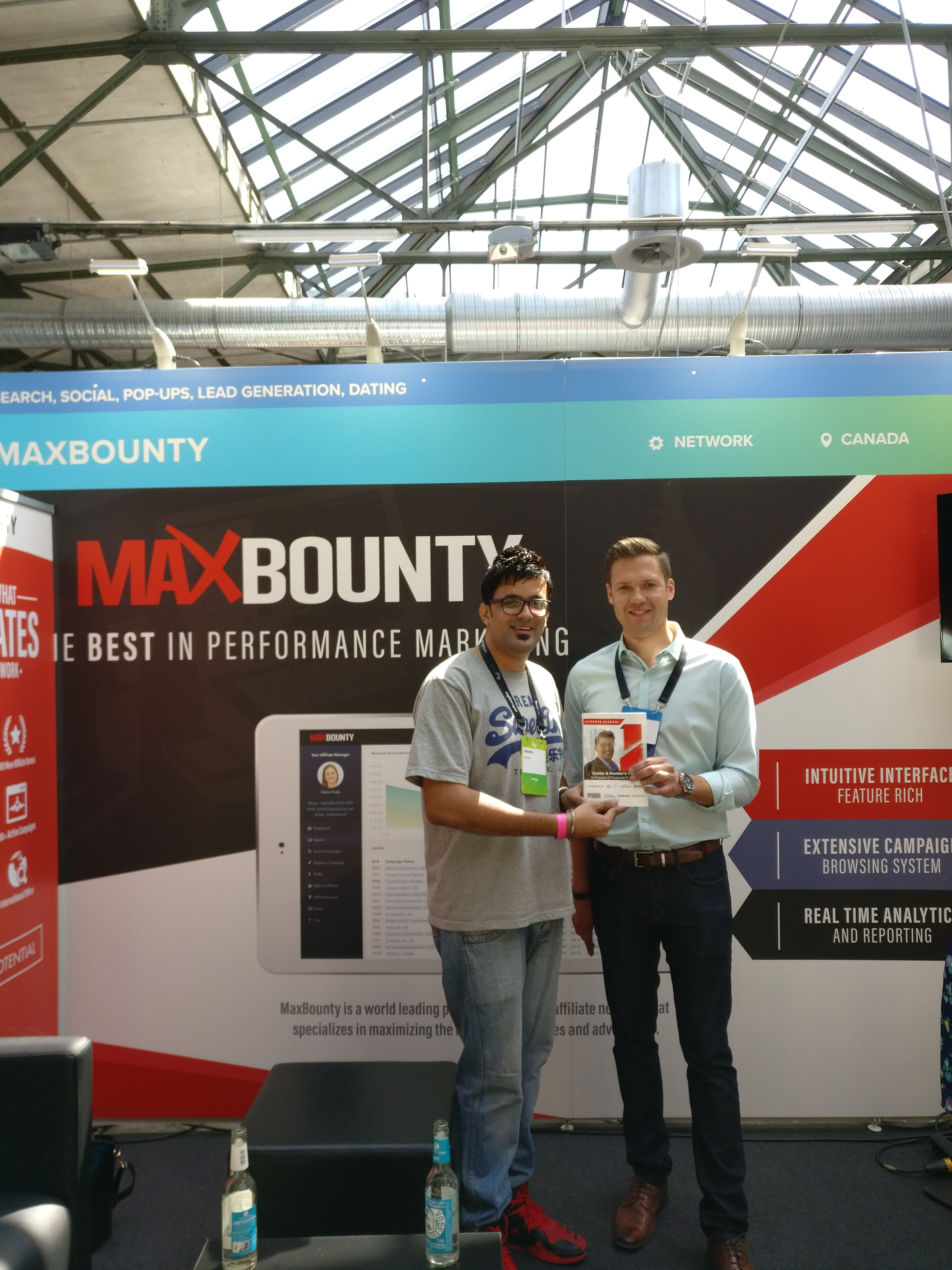 Matt CEO of MaxBounty