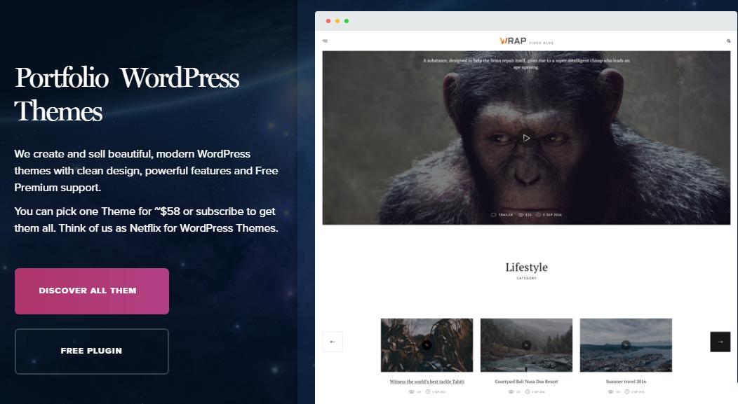 Premium WordPress Themes Club -TeslaThemes coupon