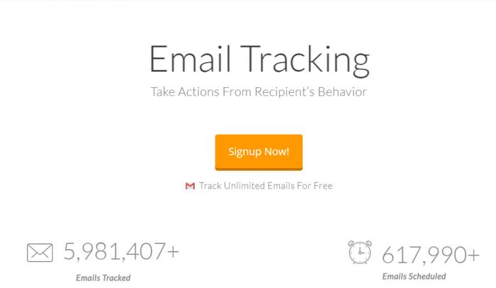 Saleshandy Vs Mailchimp VS Getresponse - Email Tracking