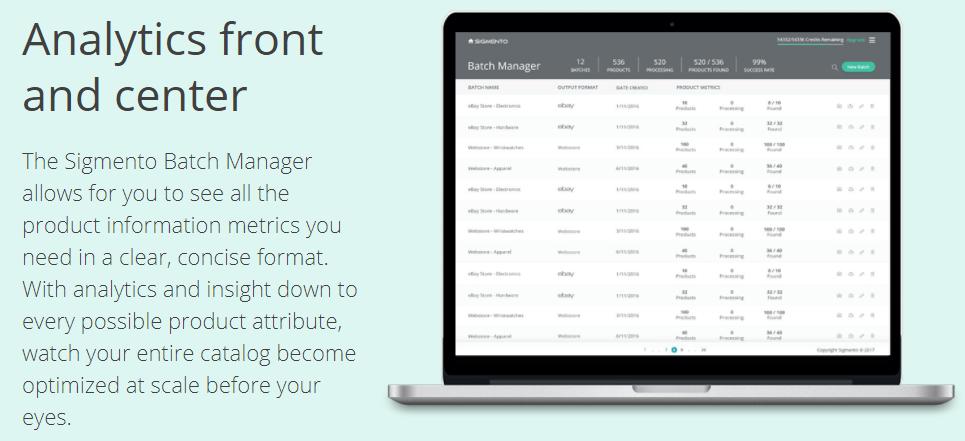 Sigmento Review- Sigmento Analytics