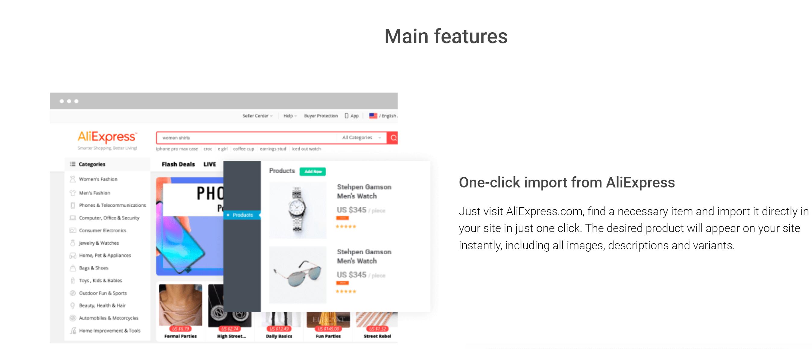 alidropship Aliexpress plugin