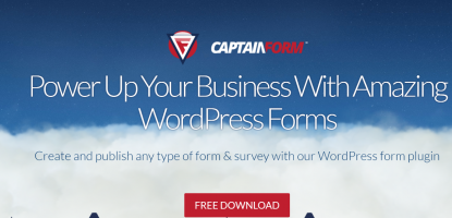 captainform wordpress review