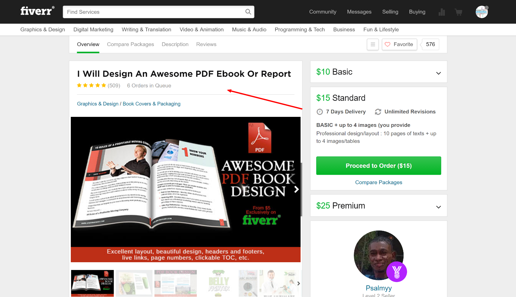 fiverr ebook