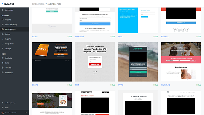 kajabi-landing-pages