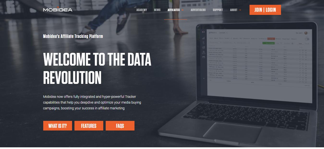 Mobidea Affiliate Tracking Platform