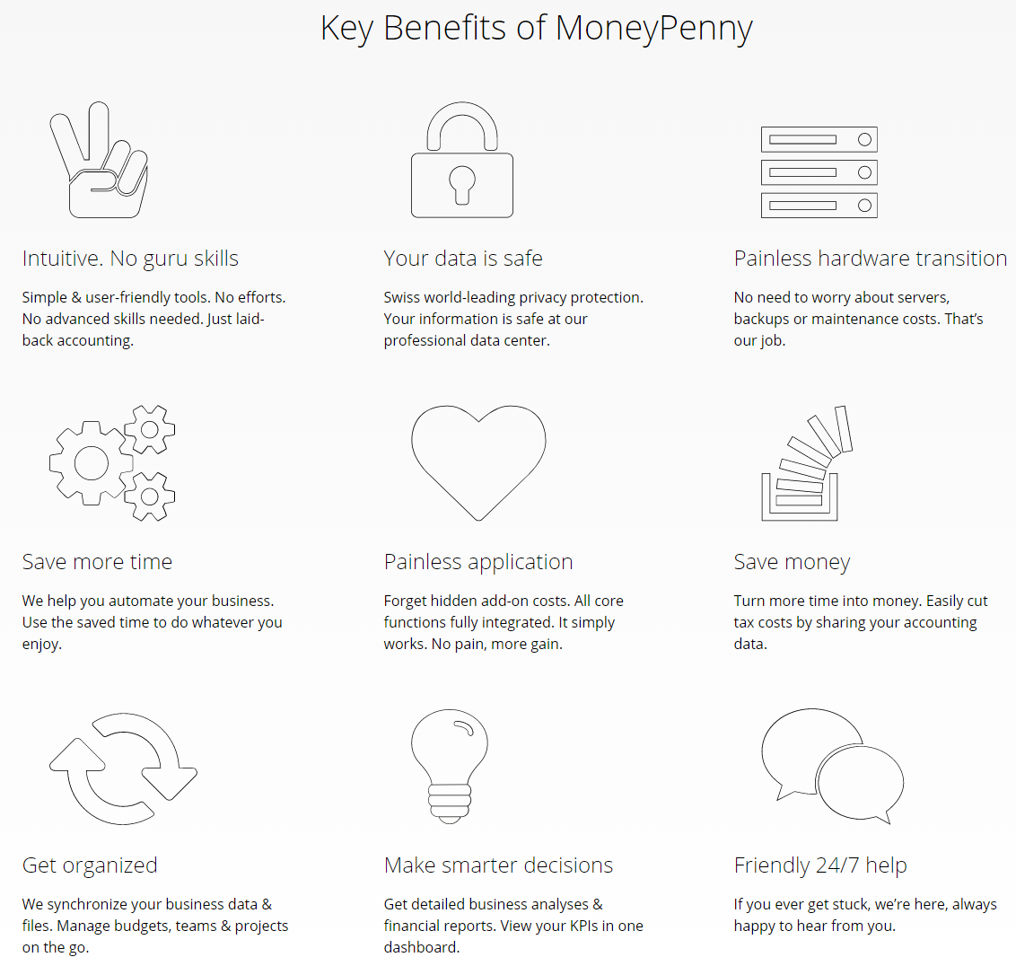 MoneyPenny Review- Key Benefits