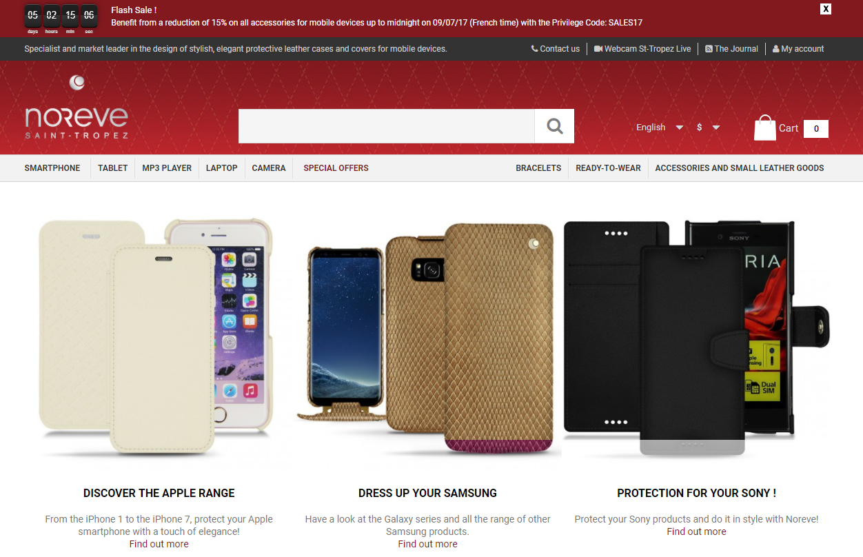 Noreve Review- Luxury leather cases for Mobile Devices