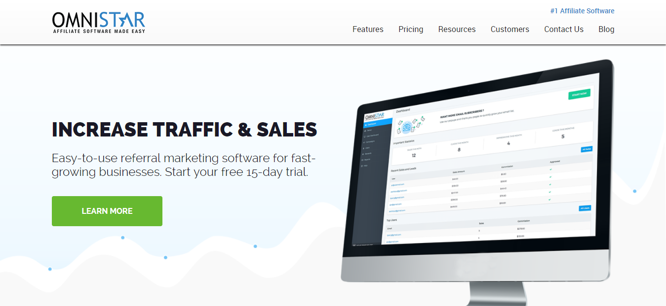Omnistar- Affiliate Tracking Software Marketing