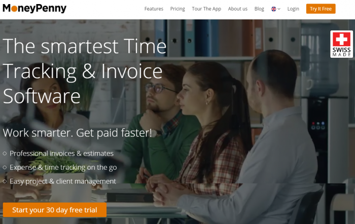 Time Tracking and Invoicing in 1 Tool — MoneyPenny Review