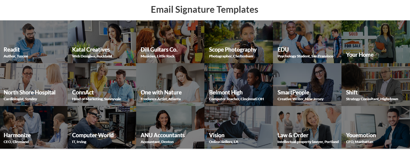 WiseStamp Review - Professional Email Signature Template