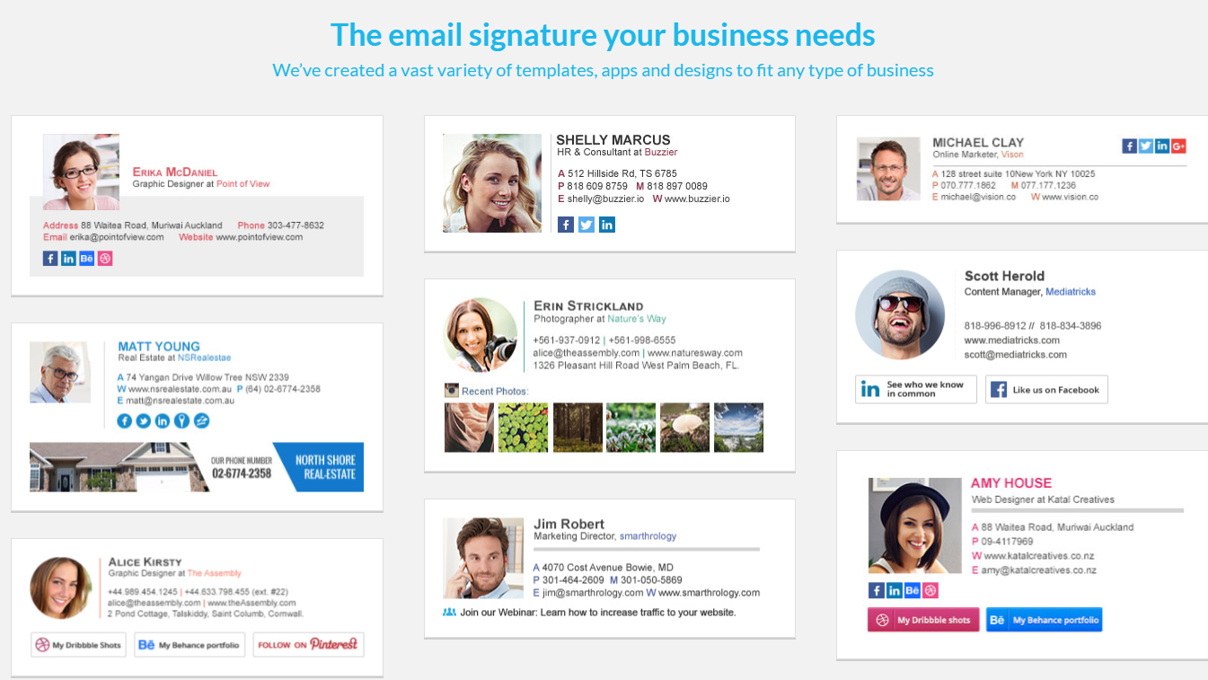 WiseStamp Review - Professional Email Signature