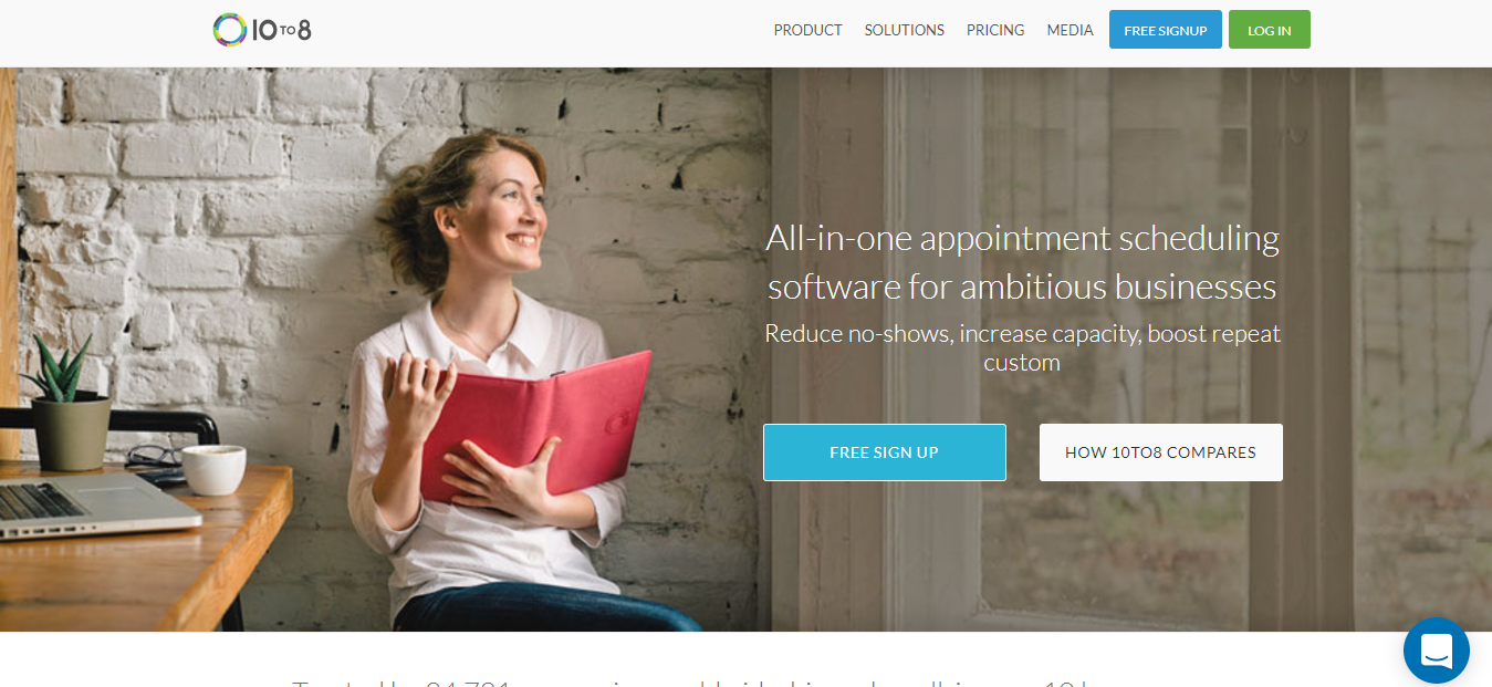 10to8 - Best FREE Online Booking System