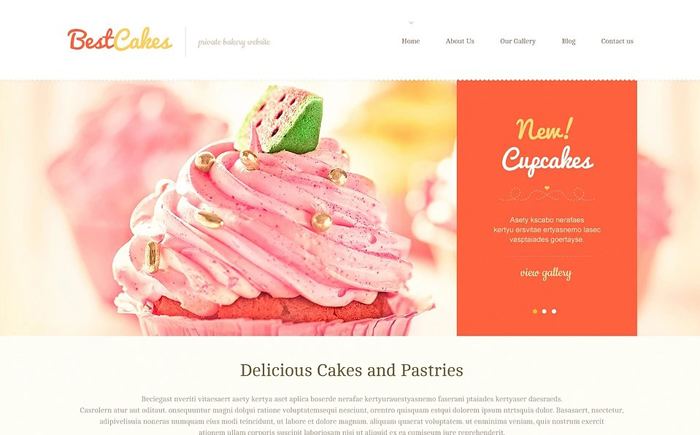 Sweet Online Shop WordPress Theme