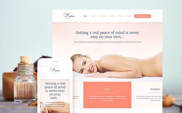 Salon Responsive WordPress Theme