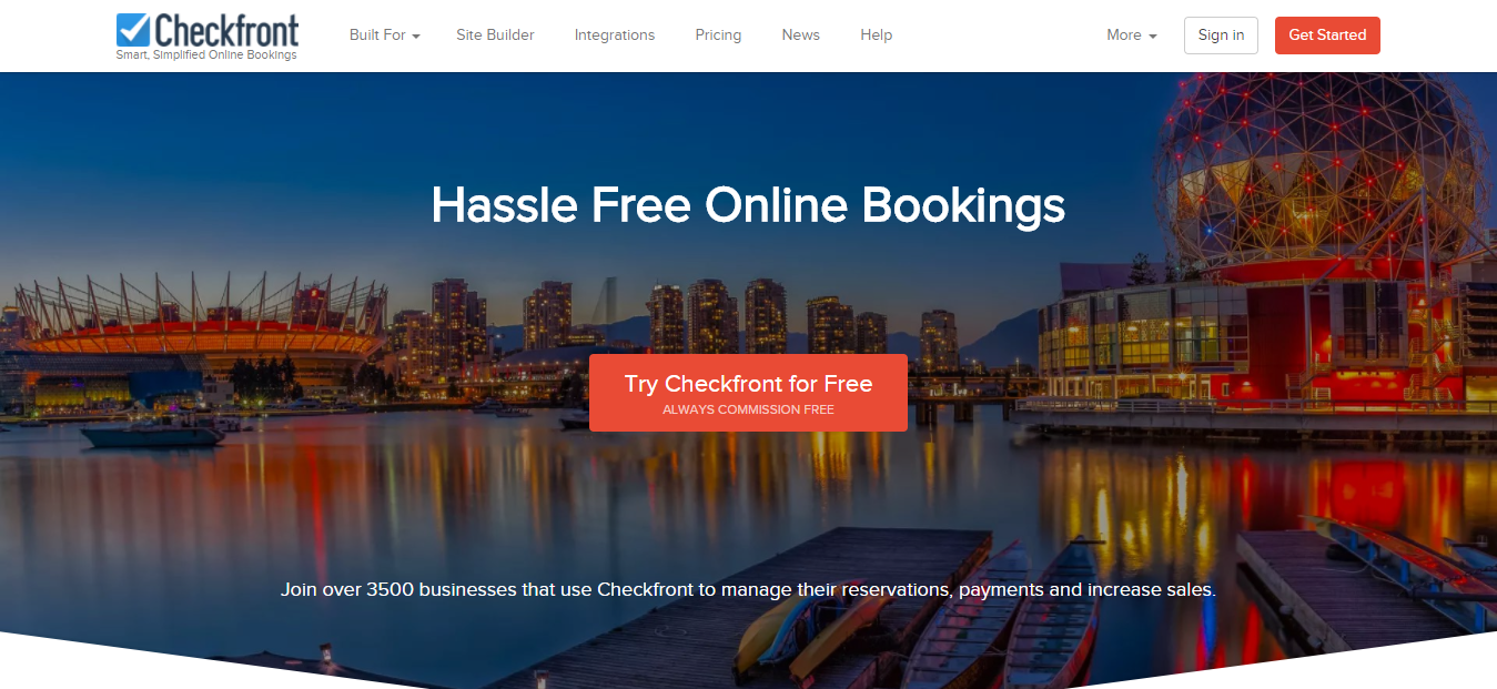Checkfront - Best Online Booking System