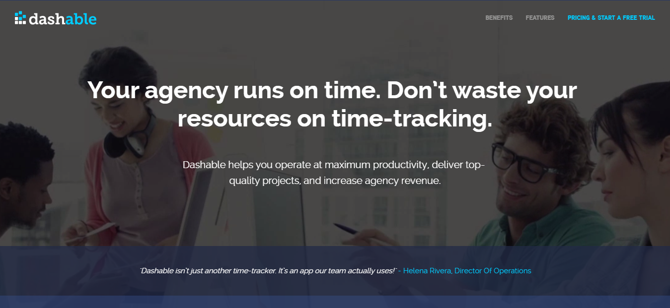 Dashable -Top Time Tracking Software