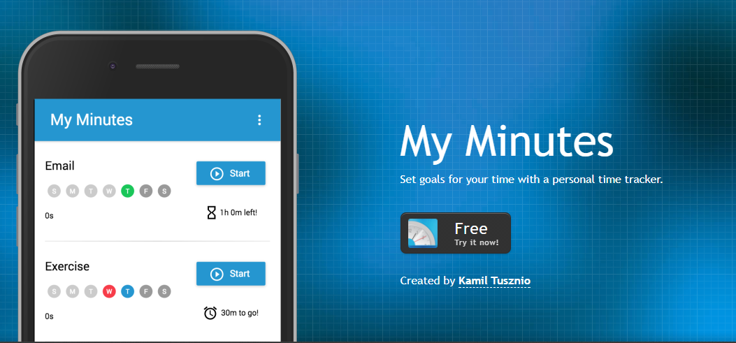 My Minutes - Best time tracking app