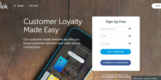 Top Loyalty Rewards App - flok