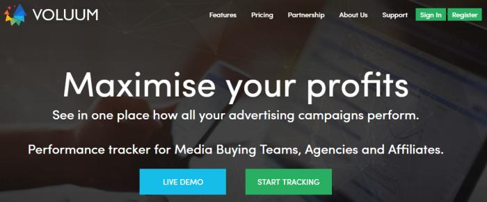 Voluum Review - Performance marketing tracker