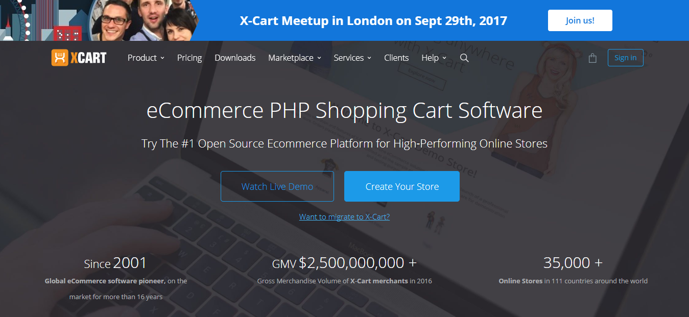 X-cart - best Shopping Cart Software