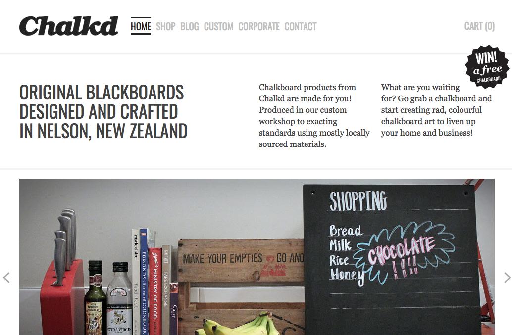chalkd - shopify stores