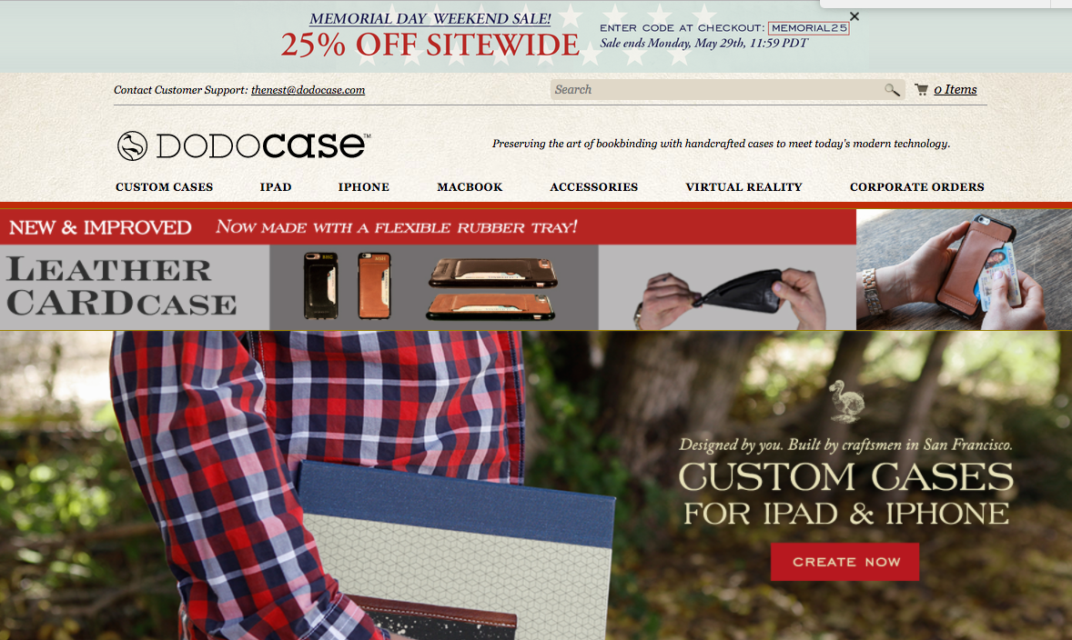 dodocase - shopify store