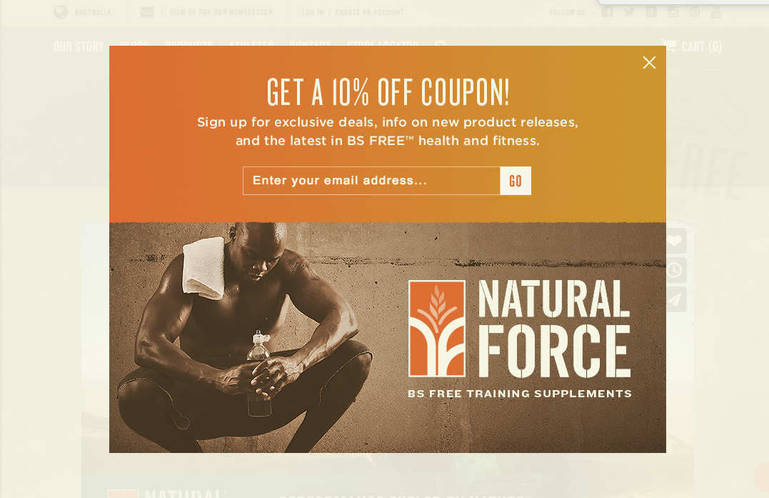 natural force - shopify store