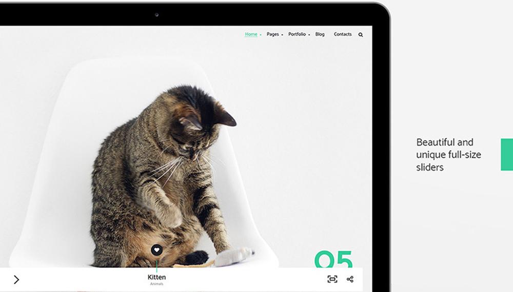 Spacer – Photography Portfolio WordPress Theme