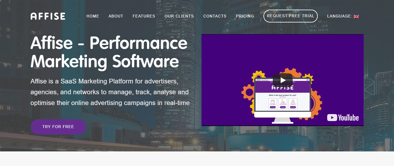 Affise-Affiliate Marketing Software- Best Ads Trackers Comparison