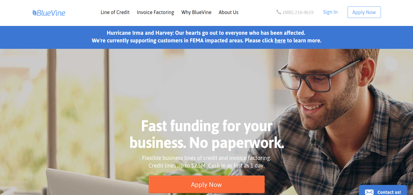 Business Loans from BlueVine