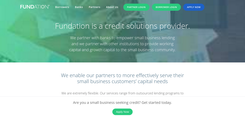 Fundation – Online Business Loans