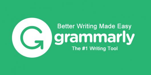 Grammarly - writing tool