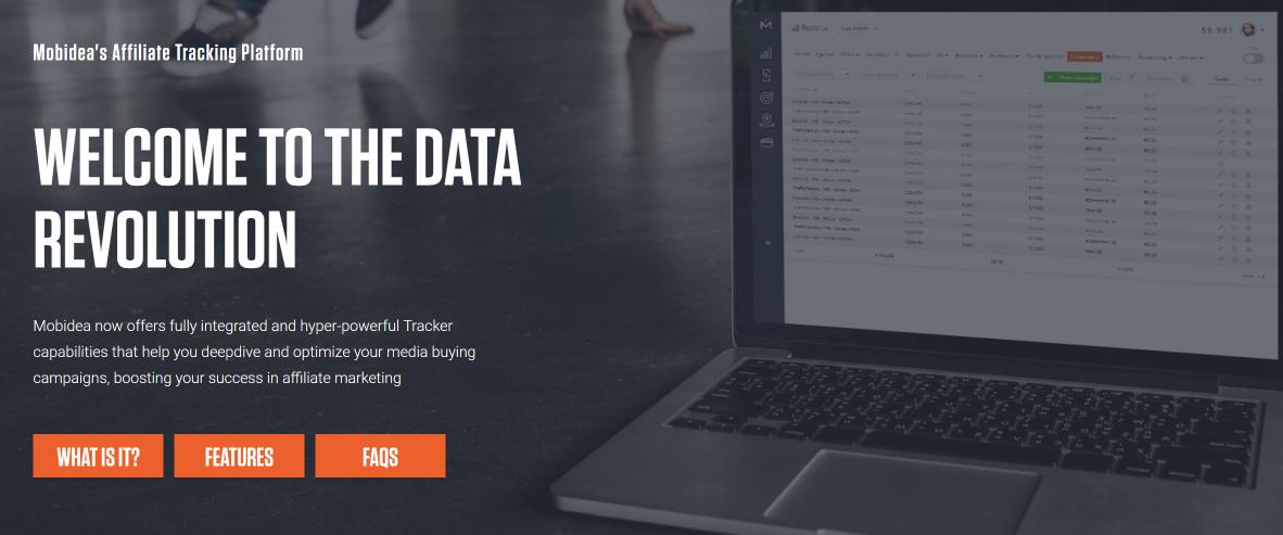 Mobidea affiliate trackers