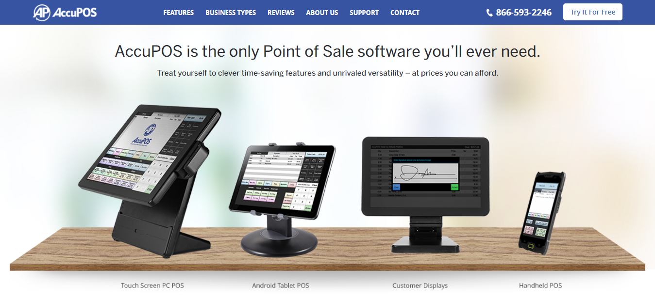POS Software - Advanced Point of Sale Software - AccuPOS