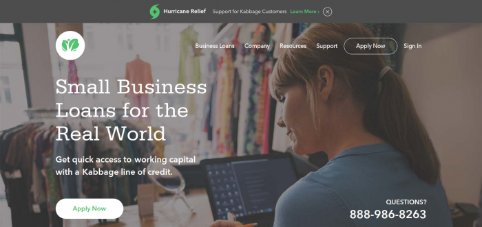Small Business Loans- Kabbage