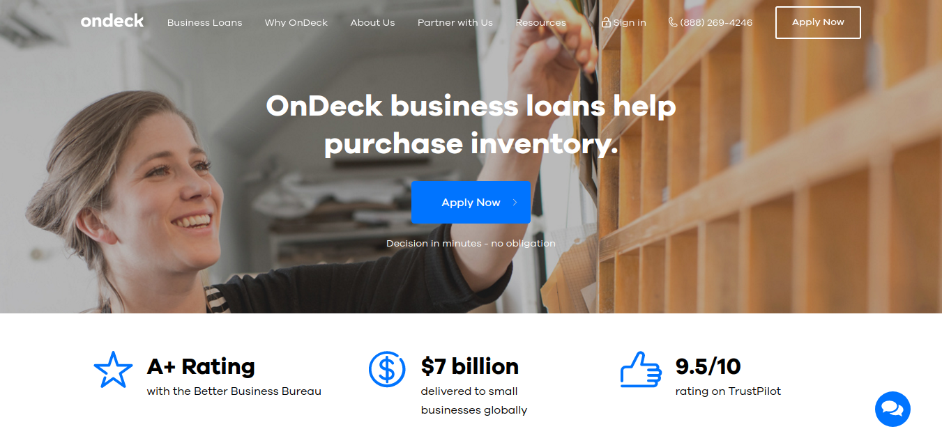 Small Business Loans and Business Credit - On Deck Capital