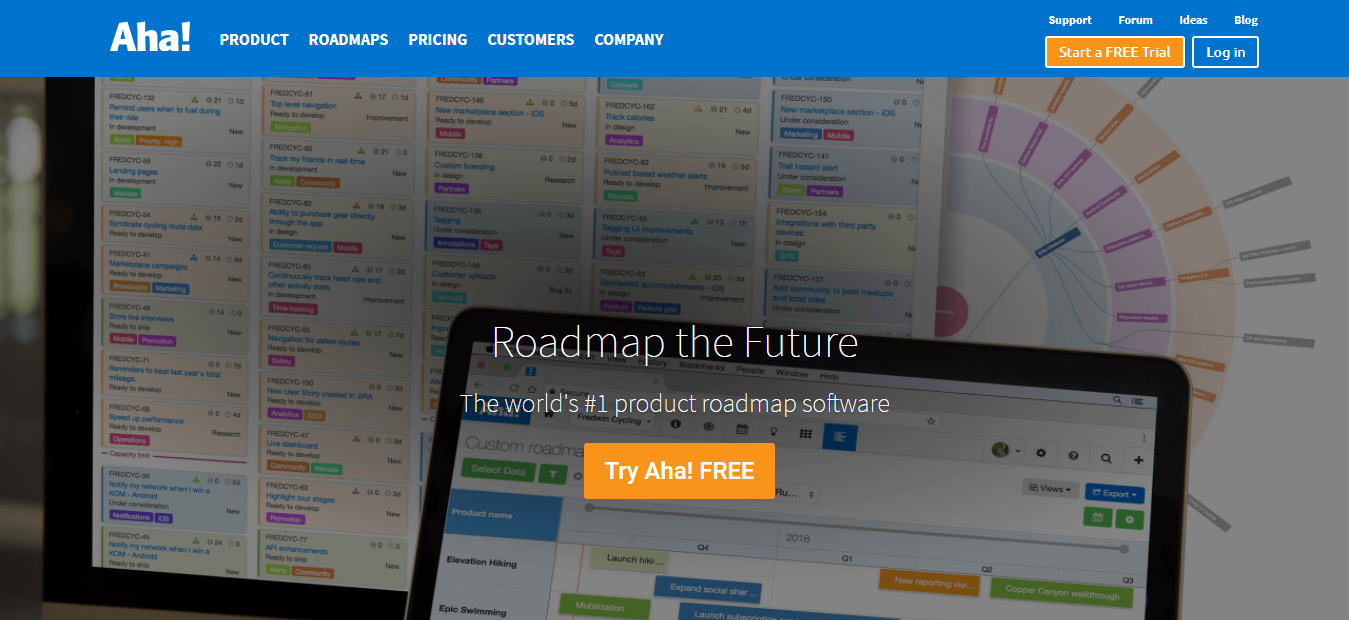 Aha.io - Product Manager