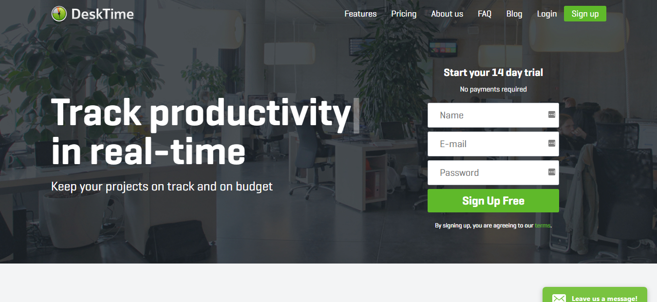 DeskTime - Fully Automatic Business Time Tracking Software